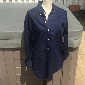 St. John bay dress shirt new with tags